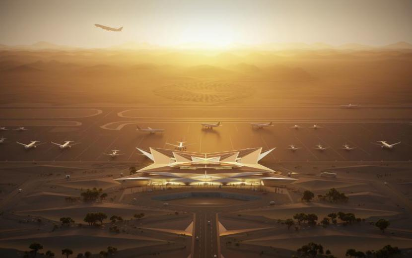 Saudi giga-project Amaala reveals designs for new international airport