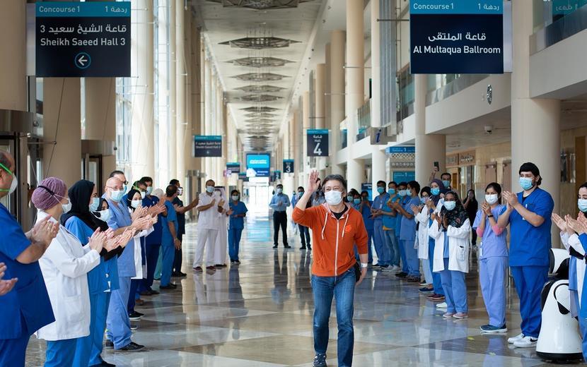 Dubai World Trade Centre field hospital bids farewell to last Covid-19 patient