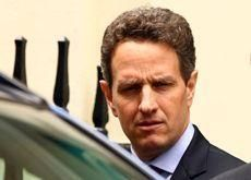 Geithner backs strong dollar to calm Mideast investors
