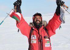 Arab explorer attempts Antarctic challenge