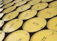 Oil price falls to five-week low