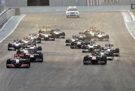 Live blog from Yas Marina circuit