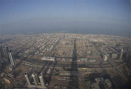 AED100 to take the Burj Dubai tour