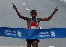 Gebrselassie scores Dubai Marathon hat-trick