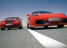 Fast cars, lean times