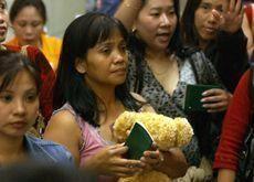 More Filipinas fleeing Kuwaiti sponsors each day