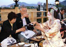 Geisha turn barmaids to keep Japan's 'Floating World' afloat
