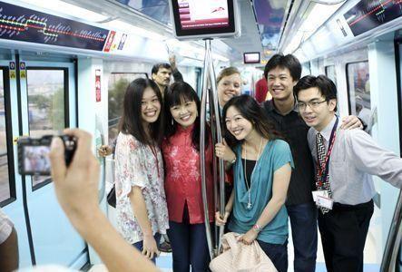 More people using Dubai Metro each month