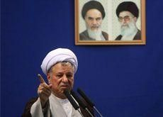 Rafsanjani backs 'law-breakers' - Iran hardliner