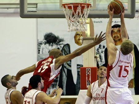 Iran's Mahram club wins Dubai basketball championships