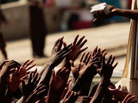 Haitians struggle for survival