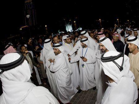 More photos from Burj Khalifa opening
