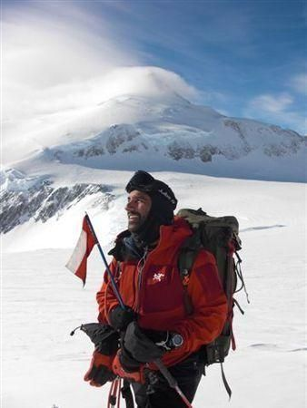 Nabs reaches Mount Vinson summit