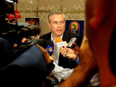 Togo's football team leaves Angola