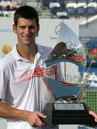 Djokovic retains Dubai title