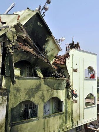Indian navy plane crash tragedy