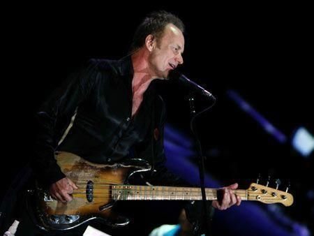 Sting performs at Meydan