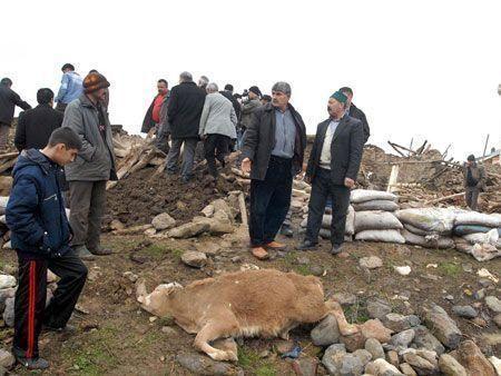 Turkey struck by quake