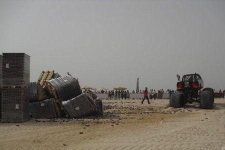 Monster truck challenge at Dubai's JBR