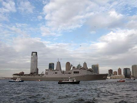 The ship made from Twin Towers wreckage
