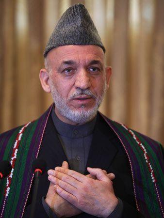 Afghan President Karzai re-elected