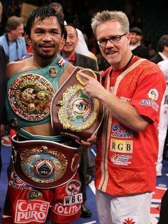 Boxer Pacquiao wins again