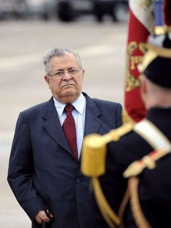 Iraqi President on official visit to France