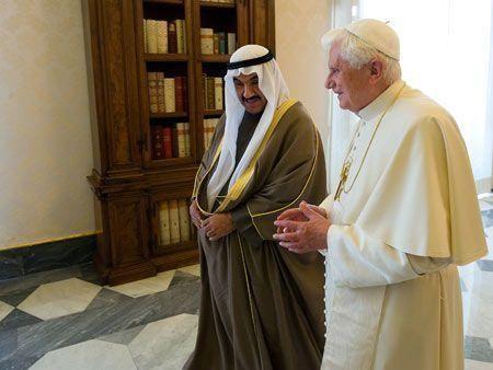 Kuwaiti PM meets the Pope