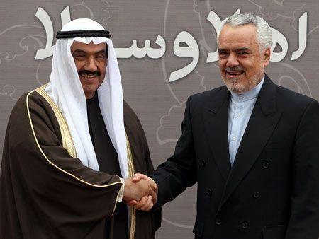 Kuwait's Sheikh Nasser in Iran