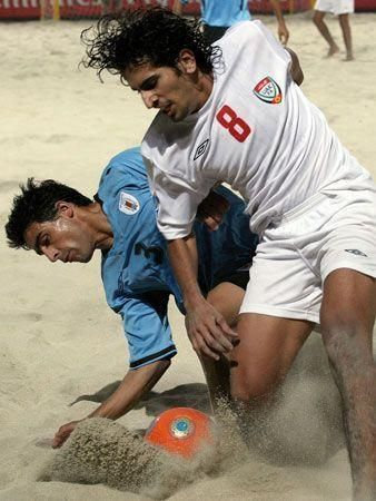 More action from Dubai beach soccer cup