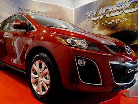 Mazda CX-7 Turbo's UAE launch