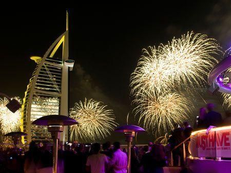 UAE revellers welcome 2010