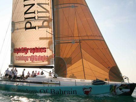 Two Volvo 60s yachts arrive in Bahrain