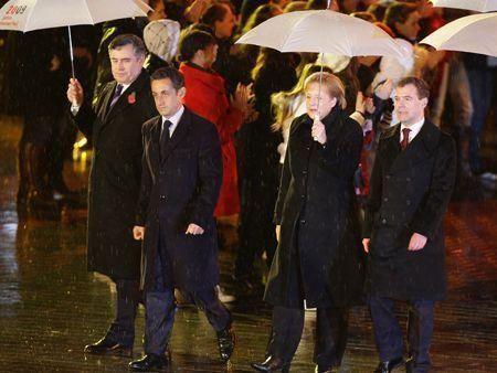 Germany celebrates Berlin Wall anniversary