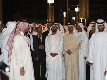 First photos from Burj Khalifa opening ceremony