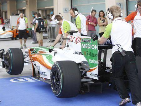 Abu Dhabi F1 - Day 2