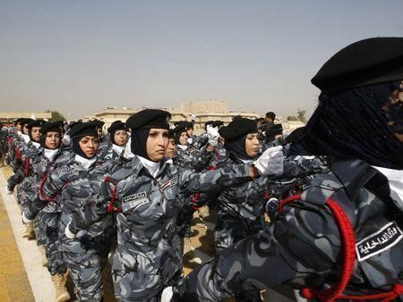 Iraq's new female police officers