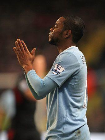 Man City celebrate first win under Mancini
