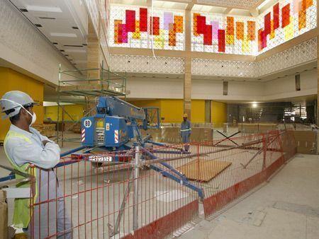 Inside Mirdif City Center mall