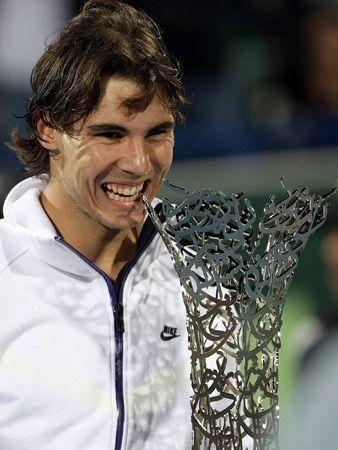 Nadal wins in Abu Dhabi