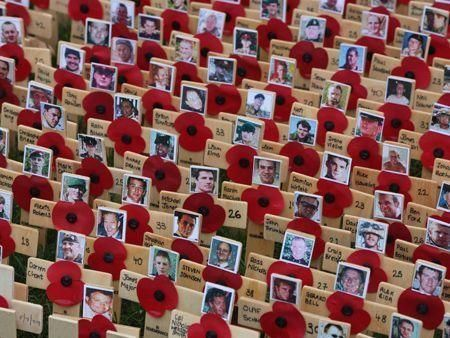 UK remembers war dead