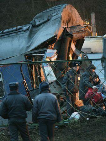 Russian train crash