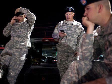 Shocking shootout at US army base