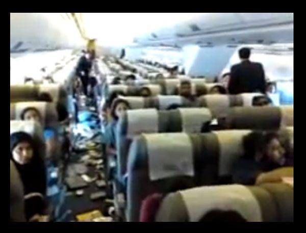 Kuwait Airways turbulence footage leaked