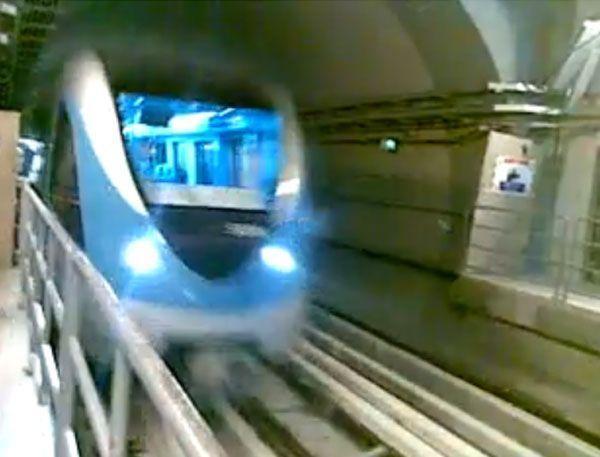 The Metro at Al Rigga station