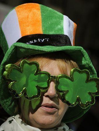 St Patrick's Day celebrated