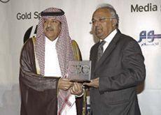 Samba boss scoops lifetime achievement award