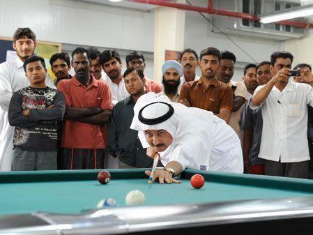 UAE's top ministers visit Saadiyat Island