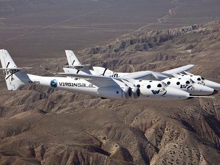 Virgin Galactic makes first test flight