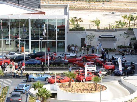 Dubai Ferrari owners